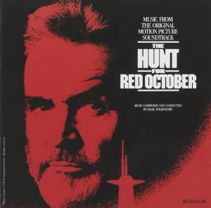 Basil Poledouris: Hunt For Red October, The - Cover