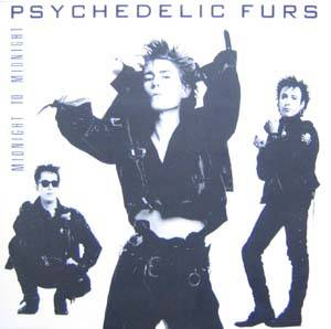 The Psychedelic Furs: Midnight To Midnight - Cover