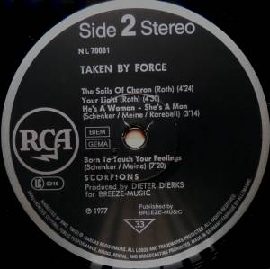 Scorpions: Taken By Force (LP) - Bild 4