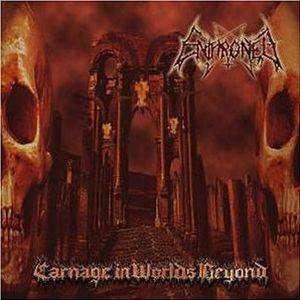 Cover - Enthroned: Carnage In Worlds Beyond
