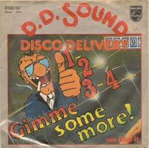 Cover - D.D. Sound: 1-2-3-4... Gimme Some More