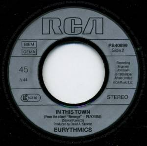 "Eurythmics: Thorn In My Side (7"") - Bild 4"