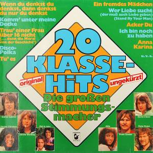 Cover - Manuela: 20 Klasse-Hits