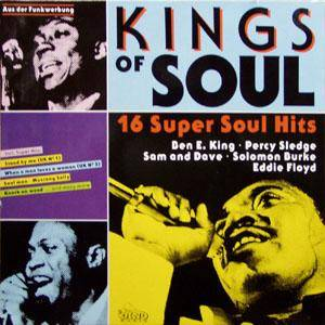 Kings Of Soul - 16 Super Soul Hits - Cover