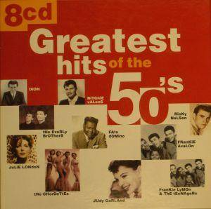 Greatest Hits Of The 50's - Cover