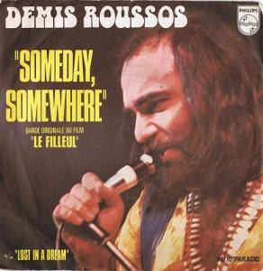 Demis Roussos: Someday, Somewhere - Cover