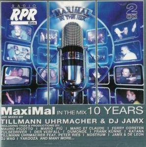 Cover - Revil O.: Maximal In The Mix - 10 Years