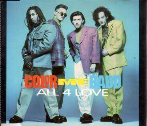 Cover - Color Me Badd: All 4 Love