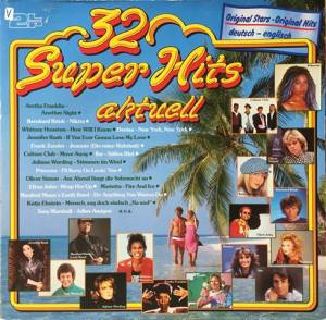 Cover - Ibo: 32 Super Hits Aktuell