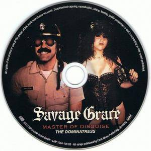 Savage Grace: Master Of Disguise / The Dominatress (CD) - Bild 3