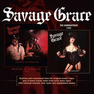 Savage Grace: Master Of Disguise / The Dominatress (CD) - Bild 1