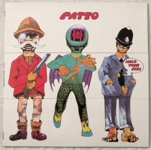 Patto: Hold Your Fire - Cover