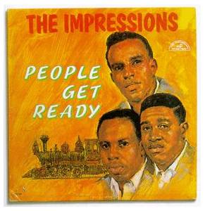 Cover - Impressions, The: People Get Ready