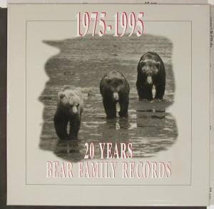 Cover - Jean Shepard: 1975-1995 - 20 Years Bear Family Records