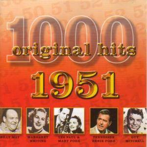 Cover - Les Paul & Mary Ford: 1000 Original Hits - 1951