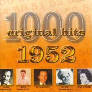 1000 Original Hits - 1952 - Cover