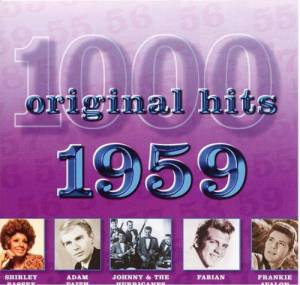 Cover - Marv Johnson: 1000 Original Hits - 1959