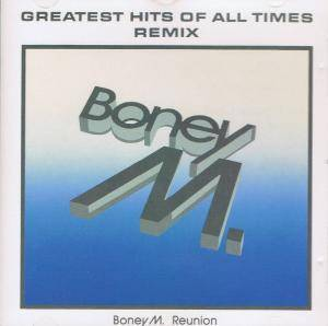 Boney M.: Greatest Hits Of All Times - Remix - Cover