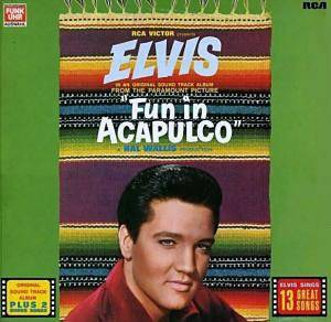 Elvis Presley: Fun In Acapulco - Cover