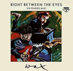 Cover - Wax: Right Between The Eyes