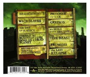 All Shall Perish: The Price Of Existence (CD) - Bild 2