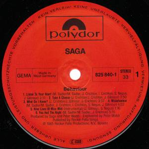 Saga: Behaviour (LP) - Bild 5