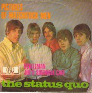 Status Quo: Pictures Of Matchstick Men - Cover