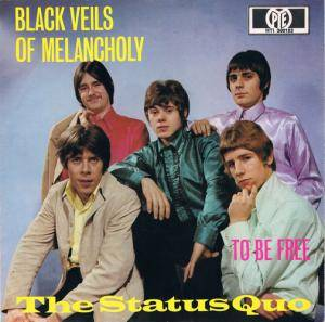 Status Quo: Black Veils Of Melancholy - Cover