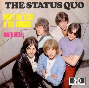 Status Quo: Make Me Stay A Bit Longer - Cover