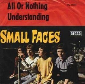 Small Faces: All Or Nothing - Cover