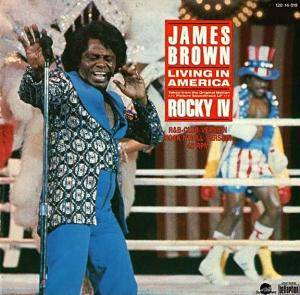 James Brown: Living In America - Cover
