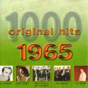 Cover - Jackie Trent: 1000 Original Hits - 1965