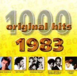 1000 Original Hits - 1983 - Cover