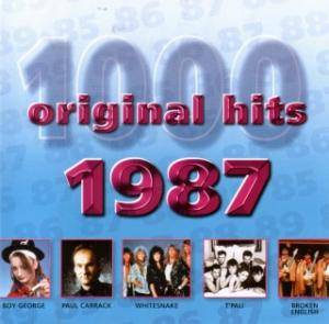 Cover - Broken English: 1000 Original Hits - 1987