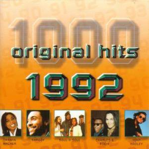 Cover - Urban Hype: 1000 Original Hits - 1992