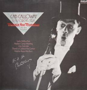 Cover - Cab Calloway & His Orchestra: Minnie The Moocher (1933-1934 Recordings)