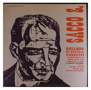 Cover - Woody Guthrie: Ballads Of Sacco & Vanzetti