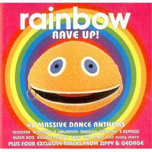 Rainbow Rave Up! - Cover