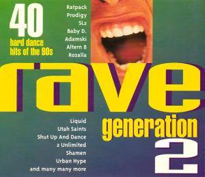 Cover - Urban Hype: Rave Generation 2