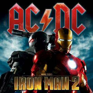 AC/DC: Iron Man 2 - Cover