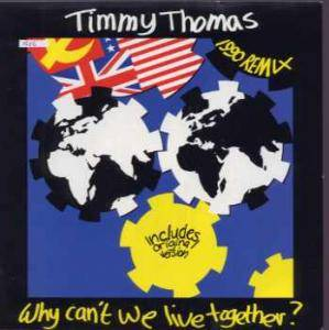 Timmy Thomas: Why Can't We Live Together? (Stand Up For Love! The 1990 Re-Recording) - Cover