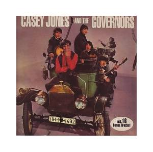 Cover - Casey Jones & The Governors: Casey Jones & The Governors