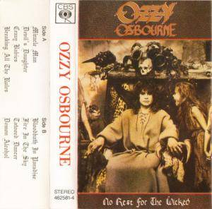 Ozzy Osbourne: No Rest For The Wicked (Tape) - Bild 1