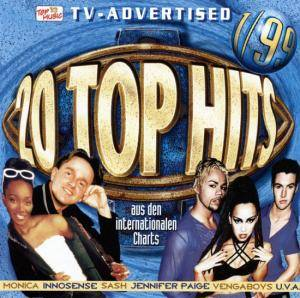 Cover - Richie: 20 Top Hits Aus Den Charts - 1/99