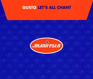 Cover - Gusto: Let's All Chant