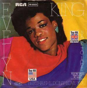 Cover - Evelyn King: Back To Love