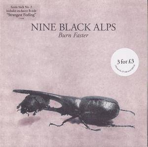 Cover - Nine Black Alps: Burn Faster