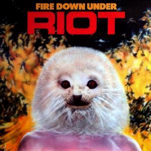 Riot: Fire Down Under - Cover