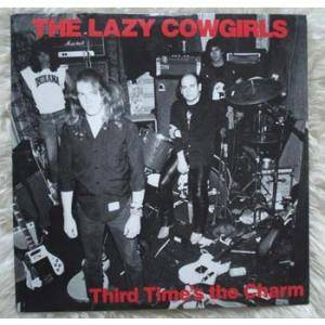 The Lazy Cowgirls: Third Time's The Charm - Again - Cover