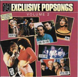 Cover - Lene Lovich: 14 Exclusive Popsongs - Vol.2